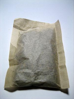 Barley tea - Image: Mugicha Tea bag by CR 01