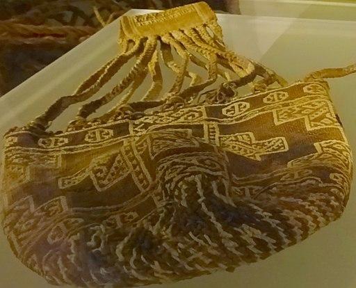 Muisca Mummy Textile Bag