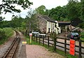 Muncaster Mill from Muncaster Mill Halt - geograph.org.uk - 840271.jpg