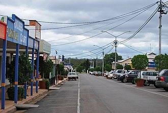 Mundubbera - Lyons St in Mundubbera