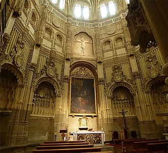 Murcia Cathedral - The Velez chapel.