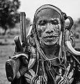 Mursi Warrior, Mago, Ethiopia (18656144222).jpg