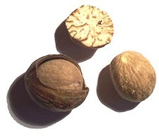 Nutmeg seeds