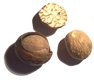 Nutmeg - Nutmeg seeds