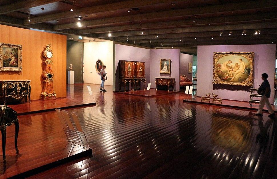 Museo gulbekian, sala del mobilio francese