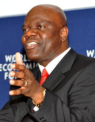 Arthur Mutambara - Mutambara at the 2009 World Economic Forum on Africa.