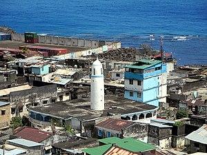 Religion in the Comoros - Image: Mutsamudu Friday Mosque (9983245486)