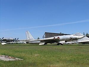 Myasishchev M-4 - Image: Myasischev 3MD VVS museum