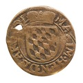 Mynt av koppar - Skoklosters slott - 108166.tif