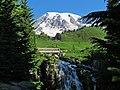 Myrtle Falls at Mount Rainier National Park in Washington 2.jpg