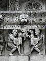 Nîmes (30) Cathédrale Frise 04.JPG