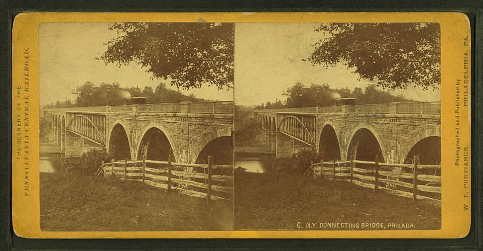 N. Y. Connecting Bridge, Philada, by Purviance, W. T. (William T.)