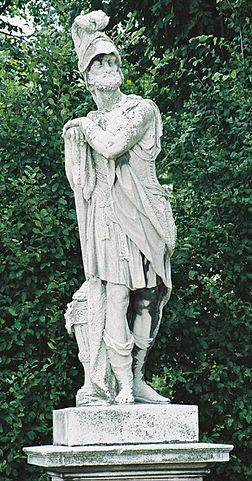 Статуя Ганнибала около дворца Шёнбрунн, Вена