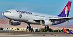 """N378HA Hawaiian Airlines 2015 Airbus A330-243 - cn 1615 """"Kaukamalama"""" (30207547085).jpg"""