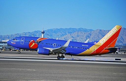 N647SW Southwest Airlines 1997 Boeing 737-3H4 C-N 27717 'Triple Crown One' (5167853592)