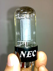 An old NEC vacuum tube