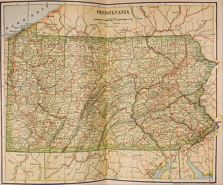 The New International Encyclopædia/Pennsylvania - Wikisource