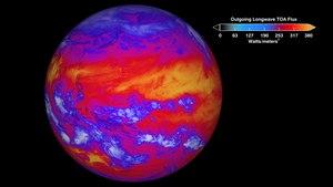 NPP Ceres Longwave Radiation