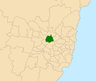 Electoral district of Parramatta