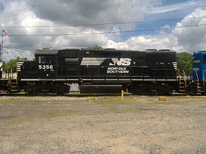 EMD GP38-2 - Image: NS Loco No. 5356