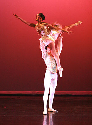 Dance partnering - Image: NW Fusion Paquita Pas Lift