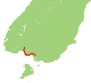 New Zealand State Highway 99 road in New Zealand