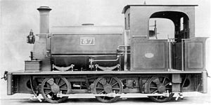 1890 in South Africa - NZASM 18 Tonner 0-6-0ST