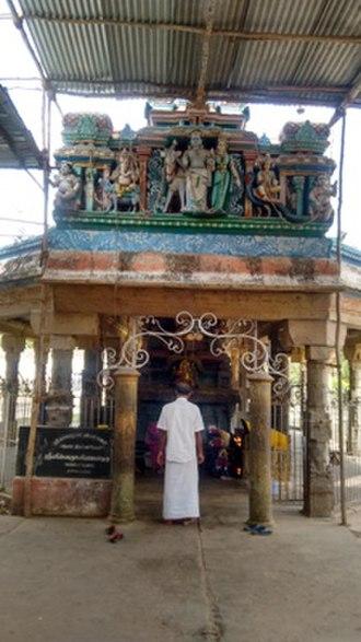 Kayarohanaswami Temple, Nagapattinam - Image: Nagapattinamkayaroga nesvarartemple 2