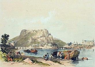 Namur - Namur in 1838