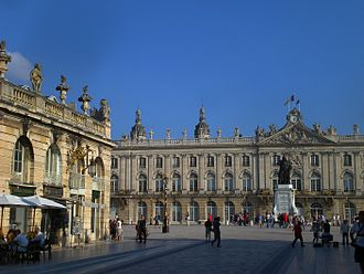 Nancy, France - Place Stanislas in the centre of town