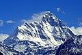 Nanda Devi Peak in blue sky.jpg