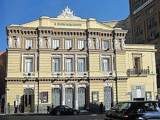 Teatro del Fondo theater in Naples