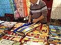 Nappes provençales au marché de Malaucène.jpg