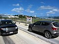 Narrow Path Between Maho Beach and St. Martin Airport (6543973651).jpg