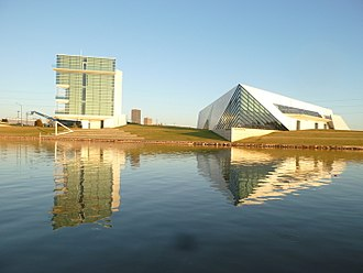 Boathouse District - Image: National Headquarters and National High Performance Center