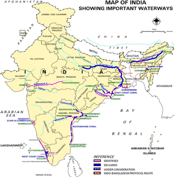 importance of waterways