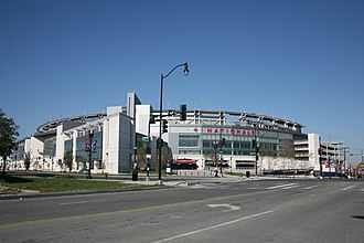Nationals Park - The exterior of Nationals Park