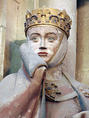 Evil Queen (Disney) - Statue of Uta von Ballenstedt at the Naumburg Cathedral in Naumburg