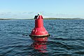 Navigation marker. Port-hand buoy, Rapness Sound - geograph.org.uk - 1433867.jpg