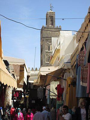 Nejjarine-minaret-meknes