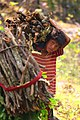 Nepali Child in forest for wood.jpg