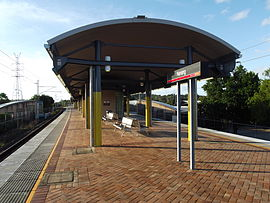 Nerang Railway Station, Queensland, Apr 2012.JPG