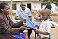 Net Distribution In Mwanza, Tanzania 2016 (31943805865).jpg