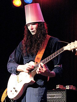 Buckethead performing live in 2008