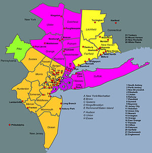 map of new york city boroughs with New York Metropolitan Area on Titheygoesnewyork blogspot likewise New york boroughs in addition Atlanta Neighborhood 18 X 24 Freddie Falcon Red Poster also Index together with Aerial View Of Nyc.