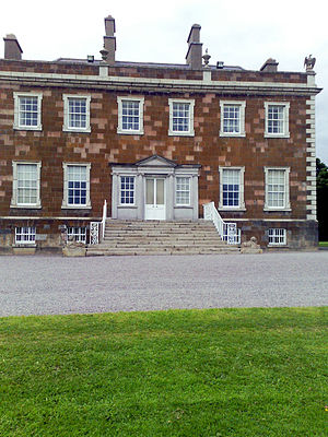 Newbridge Estate - Newbridge House main entrance