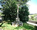 Newton Ferrers - War Memorial - Holy Cross Church. - geograph.org.uk - 573500.jpg