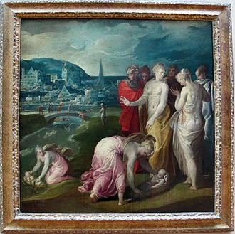 Finding of Moses - Niccolò dell'Abbate, c. 1570, Louvre