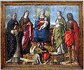 Niccolò rondinelli, madonna col bambino in trono fra santi, 1470-1510 ca. 01.jpg