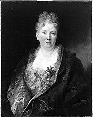 Bildnis einer reichgekleideten Frau